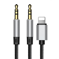 AUX кабель Baseus L33 Lightning - miniJack 3.5mm 120 см Черный