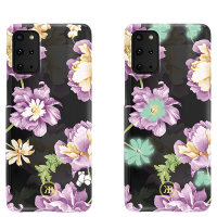 Чехол Kingxbar Spring для Galaxy S20 Plus Purple Flower