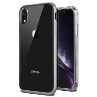 Чехол VRS Design Crystal Bumper для iPhone XR Steel Silver
