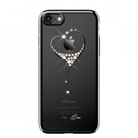 Чехол Kingxbar Starry Sky-Heart для iPhone 7/8 Plus Чёрный