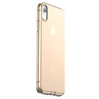 Чехол Baseus Simplicity (dust-free) для iPhone XR Transparent Gold