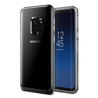 Чехол VRS Design Crystal Bumper для Galaxy S9 Metal Black