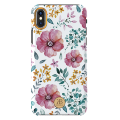 Чехол Kingxbar Blossom для iPhone X/Xs Pink Flower